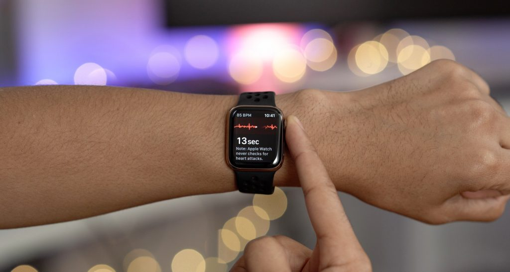 monitoring heart with apple watch