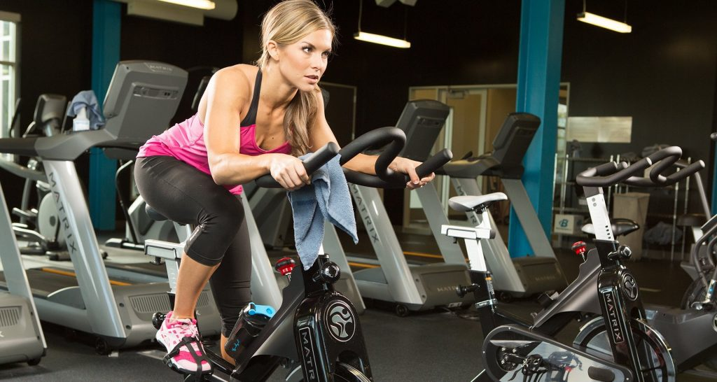 Losing weight on spin bike
