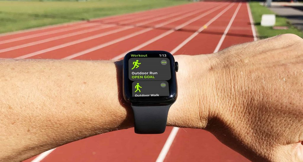 add new workout manually to apple watch