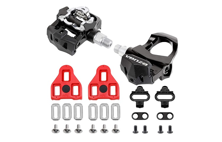 Venzo Sealed Exercise Indoor Bike CNC Pedals Review