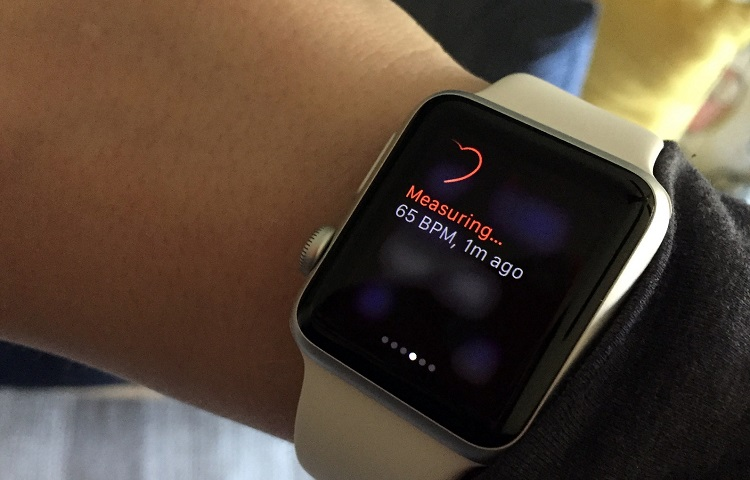 how apple watch heart rate works