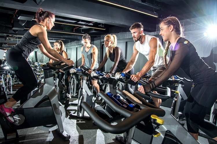 spinning group training