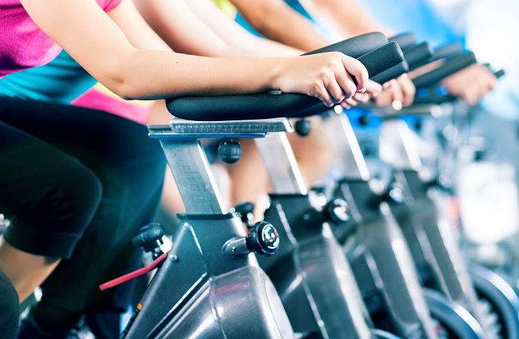 spin bike is more safe than road bike