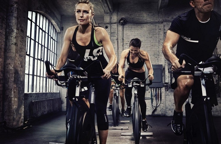 resistance on air bike and spin bike