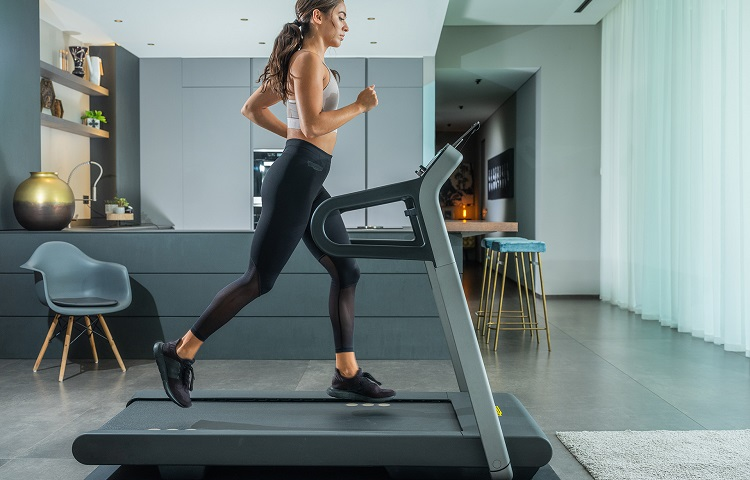 amount of space for treadmill