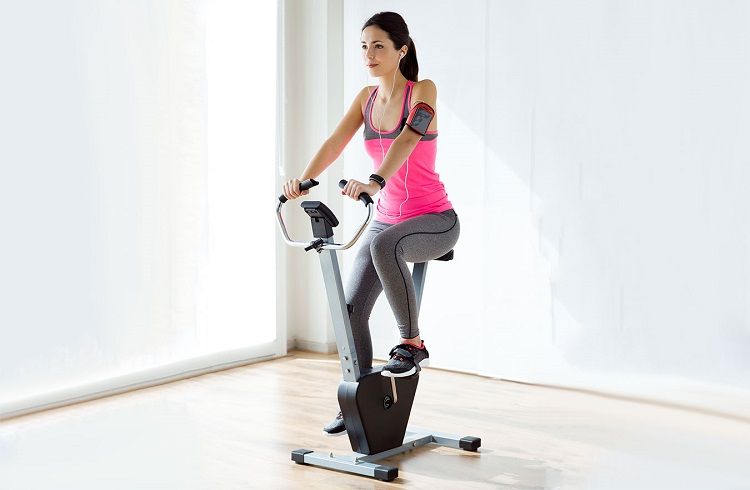 what is upright bike